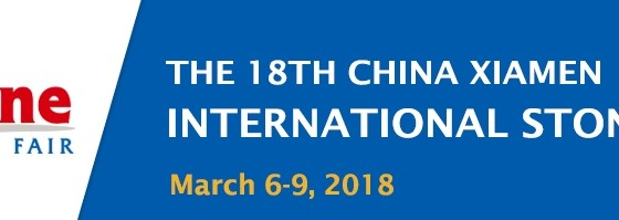 Visit us at the Xiamen International Stone Fair 2018